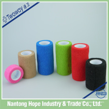 self adhesive colored crepe elastic bandage